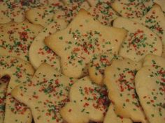 Dairy Egg & Nut Free Sugar Cookie Recipe-Food Allergy Mama....These were really good.  I did not cut them out, I just made into flat round cookies and put frosting and sprinkles on them for my food-allergic son.