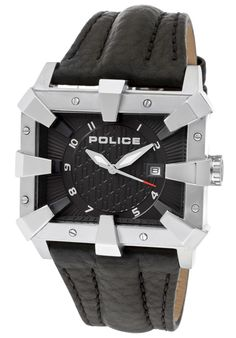 Price:$99.00 #watches Police 13400JS-02, This Police timepiece is uniquely known for it's classy and sporty look. It's accentuated design has made it one of the best sellers year after year.