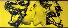 Robert Longo - Strong in Love 1983