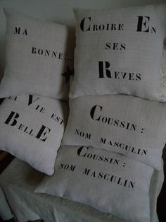 Decorative Pillows, Lettering, My Love, Textiles, Silhouette, Messages, Throw Pillows, Diy Cushion, Fabric Painting