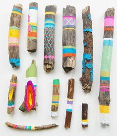 Colorful Patterned Sticks kids color pattern crafty kids crafts sticks summer activities summer activities for kids kids activities for summer kids crafts for summer Kids Crafts, Diy And Crafts, Arts And Crafts, Summer Crafts, Creative Crafts, Stick Crafts, Simple Crafts, Beach Crafts, Summer Art