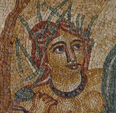 Muitas imagens feitas em pedras se conservam, uma amostra impresionante da arte romana da época.