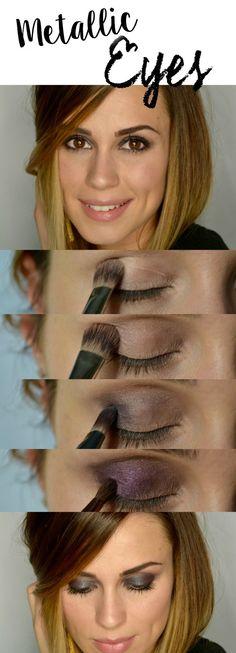 Metallic eyes | How to rock your metallic look + a few hacks to make it look flawless • Uptown With Elly Brown #UltaBeauty  #Stylehunters4Ulta @ultabeauty