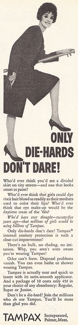 Tampax ad 1961