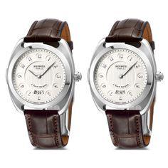 HERMÈS Dressage L'heure masquée Le temps de L'IMAGINAIRE (See more at En/Fr/Es: http://watchmobile7.com/articles/hermes-dressage-l-heure-masquee) #watches #montres #relojes #hermes @Hermès
