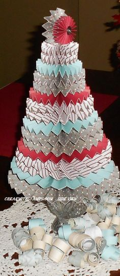 made with the sparkle and shine paper pack from CTMH