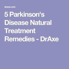 5 Parkinson's Disease Natural Treatment Remedies - DrAxe