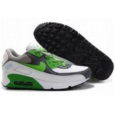 new product dd6b5 a2a35 Ken Griffey Shoes Nike Air Max 90 White Green Grey  Nike Air Max 90 -  Wonderful Nike Air Max 90 White Green Grey shoes are here for you.