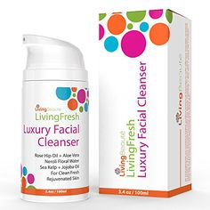 Facial Cleanser Moisturizer Blackhead  Pimple Remover For Men  Women By LivingBeaute  Pure Botanical Ingredients Synthesis  Anti Aging Cleansing Face Care Wash For Oily Dry  Sensitive Skin >>> Want to know more, click on the image.