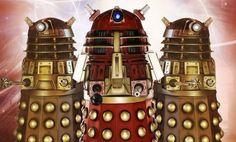 Doctor Who - Dalek fashions through time