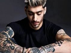 Zayn Malik Shows Off His New Hairstyle And Tattoos Before His Upcoming Album 'Mind Of Mine'- #ZaynMalik #Music #MindOfMine #NewSong #Album