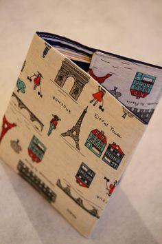 Passport Holder  Bonjour by LukaMish on Etsy, $10.00