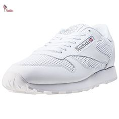 17c0a820125e6 Reebok Classic Leather Knit Hommes Baskets White - 6 UK - Chaussures reebok  ( Partner