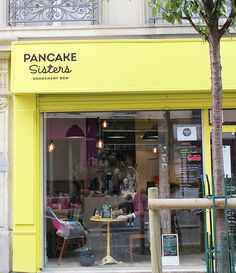 Restaurant à Pancakes - Pancake sisters PARIS 3ème Bonnes Adresses Paris, Pancake Shop, Café Restaurant, Pancake Restaurant, Brunch In Paris, Brunch Cafe, Paris City, Paris Street, Paris Paris