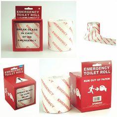 Emergency Toilet Roll! #Jordan #Gifts #Unique #GiftForHim #GiftForHer #Office #Home #GCC #MENA #picoftheday #Dubai #UAE #ToiletRoll