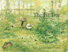 .'Grantræet' - 'The Fir Tree'  by Hans Christian Andersen   illustrated by Svend Otto S. aka Svend Otto Sørensen (1916-96)