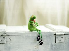 Frog + 15 by Miki Ben Shushan on Etsy