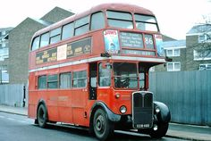 Rt Bus, East End London, Routemaster, Bus Coach, London Bus, London Transport, Busse, Coaches, Over The Years