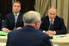 Владимир Путин провел закрытую встречу с членами бюро правления РСПП