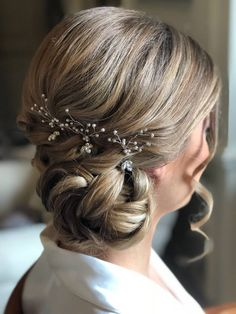 Bridal Hair Updo, Wedding Hair Accessories, Headpieces, Bridal Collection, Updos, Wedding Hairstyles, Wedding Day, Engagement, Valentines Day Weddings