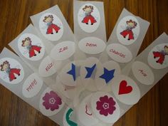 Sadieandlance: Personalised Kids Bday Party - Homemade Stickers!