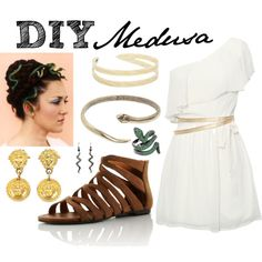 """DIY Medusa"" by shannonkathleen on Polyvore"