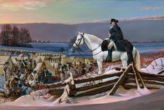 George Washington at Valley Forge | After Prayer The latest fine art print by artist, Kip Richmond