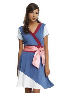 Disney Mulan Cosplay Dress, NAVY