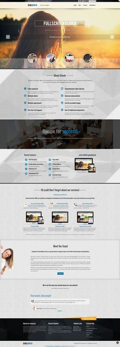 27 free dreamweaver templates pinterest template web design inspiration and design inspiration