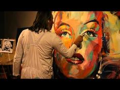 2014 Marylin Monroe -artist: VOKA -Sirona Fine Art - YouTube