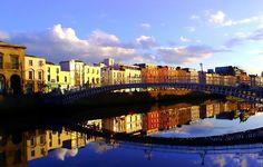 Dublin Ireland Ha Penny Bridge
