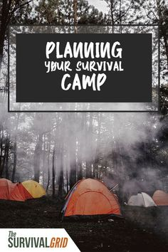 How long can you survive in the crazy wild outdoors? Plan your survival camp with these tips on surviving in the wilderness. Survival Supplies, Survival Food, Outdoor Survival, Survival Prepping, Survival Skills, Survival Weapons, Emergency Supplies, Urban Survival, Emergency Binder