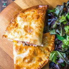 Syn Free Ham and Mushroom Pizza Calzone | Slimming World