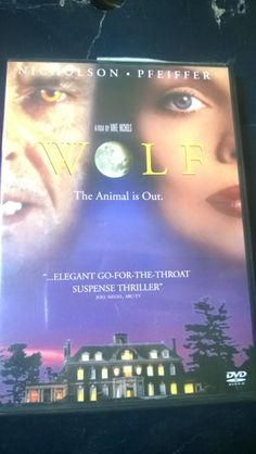 WOLF DVD Jack Nicolson Michelle Pfeiffer LOOK WHAT I'M GIVING AWAY on LISTIA :>}