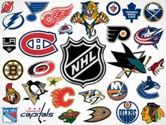 Precut Customized Hockey Team Logos- Tell us the TEAM or TEAMS you want - Edible images for cakes, cupcakes and cookies Nhl Hockey Jerseys, Hockey Logos, Nhl Logos, Sports Logos, Basketball, Nhl Wallpaper, Nhl Winter Classic, Nhl Pittsburgh Penguins, National Hockey League