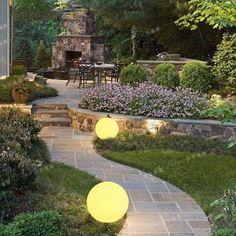 LED Solar Remote Control Landscape Ball Light – Modern Market Online