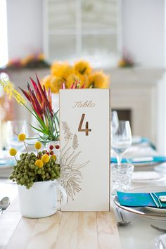 We're kicking off a new week with a punch of colour – and more than a touch of homegrown style, which as you all know, is our FAVE. As it's Heritage month, our friends at Wedding … Gold Table Numbers, Local Color, South African Weddings, Seating Plan Wedding, Heritage Month, Inspirations Magazine, Wedding Table Decorations, Wedding Party Favors, Traditional Wedding