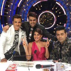 Today was my first day as a judge on #jhalakdikhlaja thank you team @colorstv team #kwan I'll never forget this experience!! @ka