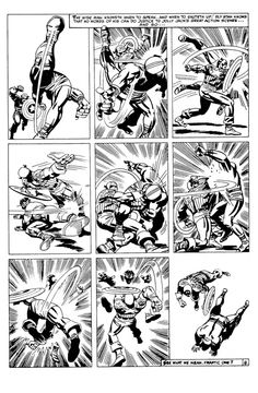 Jack Kirby, Captain America Fighting