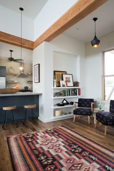 Loving the interior work of Ann Lowe. Simple and modern yet warm...