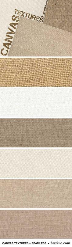 Free Seamless Canvas Textures