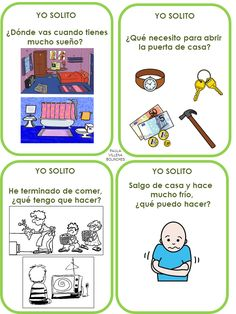 Nuestro Trivial de Habilidades Sociales avanza sin parar. Hoy compartirmos 452 tarjetas de la categoría autonomía ¡Puedo solito!, p... Social Skills, Circle Time Activities, Speech Therapy, My Tea, Aspergers, Montessori, Classroom, Teaching, Mindfulness