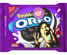 Oreo has been going wild with limited edition flavors as of late, but what if they made horror movie-themed cookies? Billy Polard put together a bunch of clever mock-ups for Dread Central. Weird Oreo Flavors, Cookie Flavors, Horror Movie Characters, Horror Movies, Oreos, Cereal Killer, Oreo Cookies, Oreo Treats, Weird Food