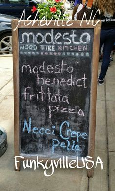 Modesto Pizza.. Asheville North Carolina aka #FunkyvilleUSA
