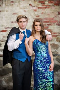 Stylized Prom Shoot with Alicias Bridal & The Formal House Tuxedos - Photo By: Toni Lynn Photography (Mori Lee Prom Dress)