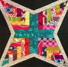 woven stars quilt pattern - Google Search