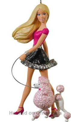Barbie Christmas Ornament.136 Best Barbie Christmas Ornaments Images In 2018 Christmas