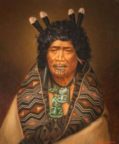 Rangi Topeora, a woman of mana of Ngāti Toa and Ngāti Raukawa, was one of five female signatories to the Treaty of Waitangi. This portrait, by Gottfried Lindauer January 1839 – 13 June highlights her moko kauae (chin and mouth tattoo), a sign of her mana. Mouth Tattoo, Auckland Art Gallery, Polynesian People, Polynesian Art, Maori People, Maori Designs, New Zealand Art, Samoan Tattoo, Maori Tattoos