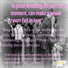 Wedding Dj, Wedding Reception, Advice For Bride, Peace Of Mind, Falling In Love, Brides, How To Memorize Things, In This Moment, Mood