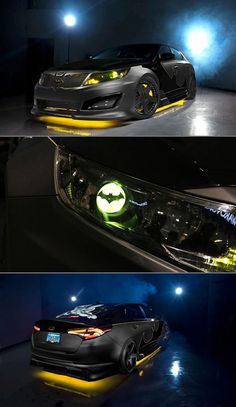 2013 Kia Optima SX Limited Batman Batmobile is for Urban Crime Fighting Batman Car, Batman Batmobile, Im Batman, Batman Wedding, Kia Motors, Engin, Kia Optima, Sweet Cars, My Ride